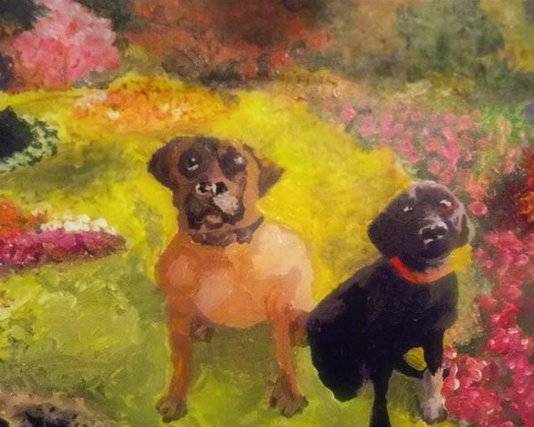 dogs-art-acrylic