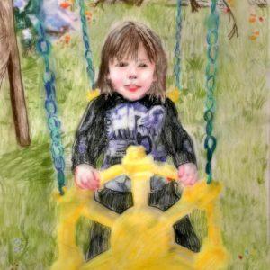 grandson-pastel-image