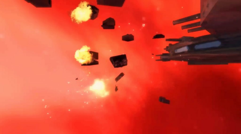 House Trek episode 6 space battle still image